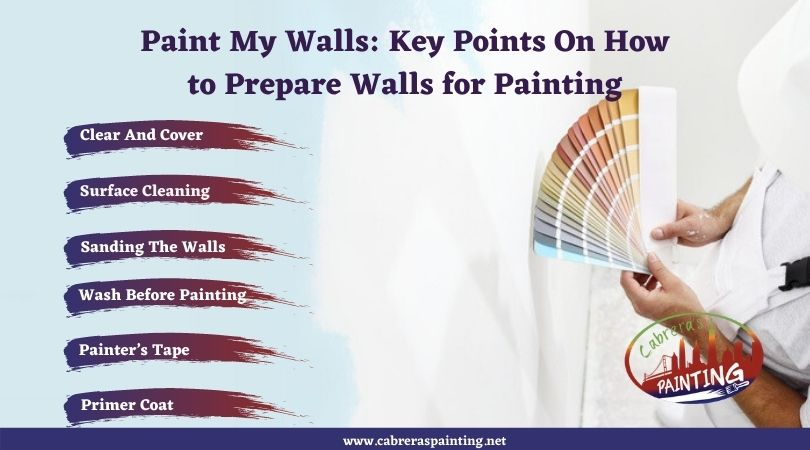 Paint My Walls: Key Points On How to Prepare Walls for Painting