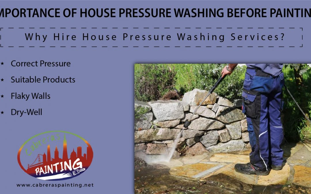 Importance of House Pressure Washing Before Painting